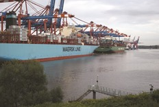 Maersk to buy smaller rival Hamburg Sud of Germany