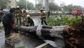Two dead as cyclone makes landfall in south India