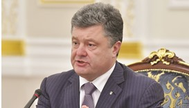 Poroshenko: No one will stop us ... we will be acting in the interests of the people of Ukraine.