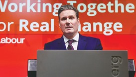 Labour Party shadow secretary of state for exiting the European Union (Brexit), Keir Starmer, delive