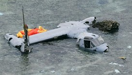 US military grounds Osprey planes in Japan after crash
