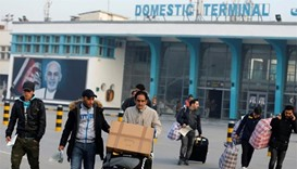 Afghans deported from Germany arrive in Kabul