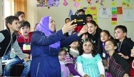 Learn Syria, one of the five newly selected WISE Accelerator projects