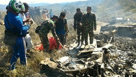 13 killed in Indonesian military plane crash
