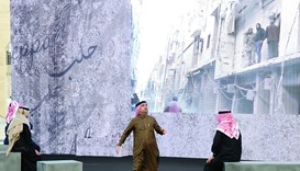 """Tales of Aleppo"" operetta at Katara"