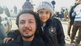 Child tweeter Bana evacuated from Aleppo