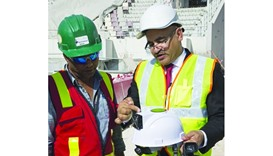 Solar helmet to make summers cooler for Qatar workers