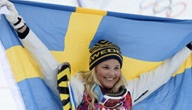 Swedish ski cross skier Holmlund stable, remains in induced coma