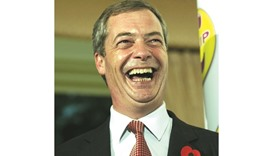 Farage: controversial remarks.