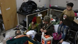 Israel considers treating Aleppo refugees in its hospitals