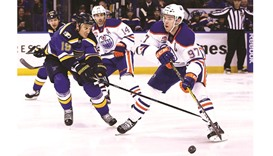 Blues fall in overtime to Edmonton Oilers 3-2