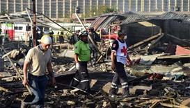 At least 31 killed in Mexico fireworks market blast