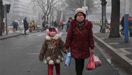 China's smoggiest city shuts schools amid public anger