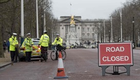 Roads shut outside Buckingham Palace after Berlin attack