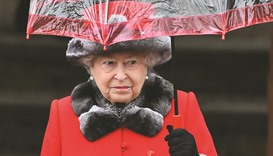 Queen Elizabeth misses church again due to heavy cold