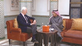 FM meets UN envoy for Syria