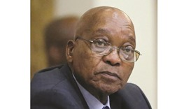 Zuma: has been engulfed by graft scandals.