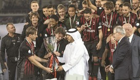 Milan beat Juventus to win Italian Super Cup