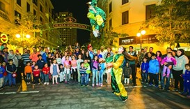 A number of activities and attractions were lined up at Medina Centrale last weekend.