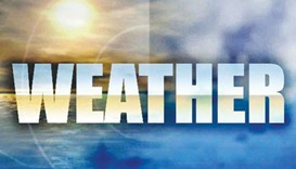 'Weak chance of light rain': Met