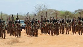 Al-Shabaab militants storm Somali military base, five soldiers dead