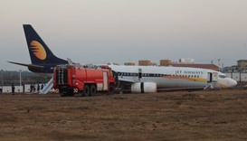 Indian passenger plane skids off runway, injuring 15