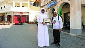 Saudi walkathon adventurer wraps up Qatar leg