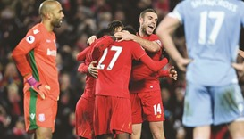 Klopp eyes special City clash after Reds sink Stoke