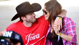 Mila Kunis and Ashton Kutcher welcome second child