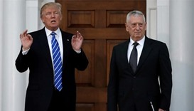 Brash, boastful Trump taps Mattis as defence secretary