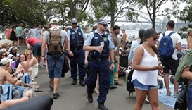 Revellers gather for Sydney New Year's Eve celebrations