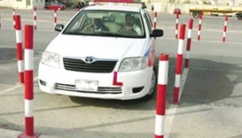 Driving school, Qatar