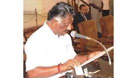 Panneerselvam: compromise candidate