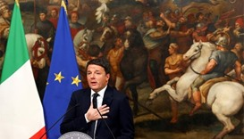 Italian Prime Minister Renzi to resign on Friday