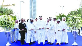 HE Sheikh Ahmed bin Jassim al-Thani , Minister of Economy and Commerce opens the show