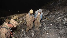 At least 40 dead in plane crash in Pakistan mountains