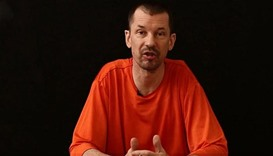 John Cantlie, a British journalist kidnapped in Syria