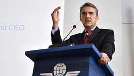 IATA chief Alexandre de Juniac