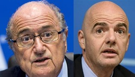 Blatter blasts Infantino over lack of respect