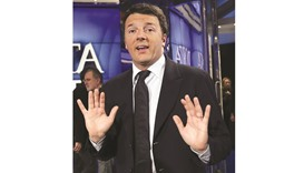 Renzi: tried, and failed, to reform the political system.