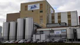 The Celia dairy company's infant milk factory that belongs to the LNS Lactalis group in Craon, weste