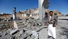 Air raids on Yemen rebel training camp kill 26