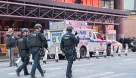 New York subway explosion 'terror-related incident'