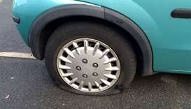 Busted: The French 'serial tyre puncturer' who hit 6,000 cars