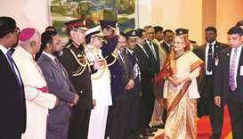 Hasina leaves for Paris to attend One Planet Summit