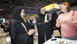 Sheikha Moza flags off 'I AM QF' event