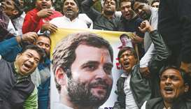 Rahul elected Congress president unopposed