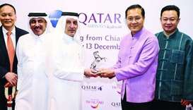 Qatar Airways launches first non-stop service to Chiang Mai