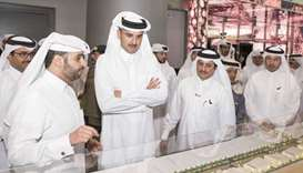 Emir inaugurates 'Made in Qatar' exhibition
