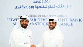 QDB, QSE sign MoU to fund listing of SMEs on QSE 'Venture Market'